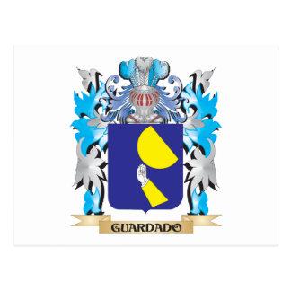 Guardado Coat of Arms - Family Crest Postcard
