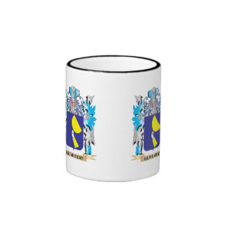 Guardado Coat of Arms - Family Crest Ringer Coffee Mug