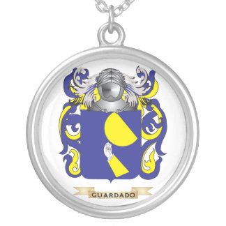 Guardado Coat of Arms (Family Crest) Round Pendant Necklace
