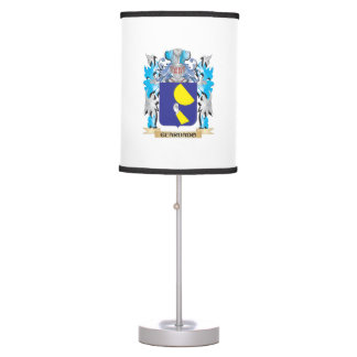 Guardado Coat of Arms - Family Crest Table Lamp