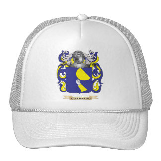 Guardado Coat of Arms (Family Crest) Trucker Hat