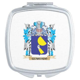 Guardado Coat of Arms - Family Crest Vanity Mirror