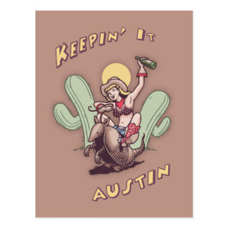 Guardándolo Austin Tarjetas Postales