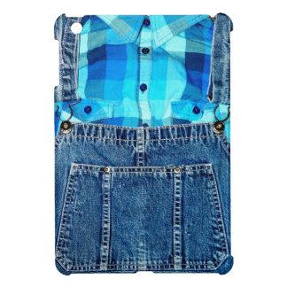 Guardapolvos del dril de algodón de Jean y camisa
