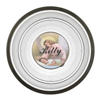 Guardar el ángel de niños, vintage, reproducción cuenco acrílico