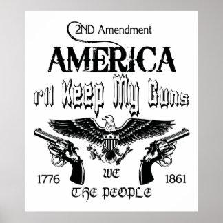 ¡Guardaré mis armas Posters
