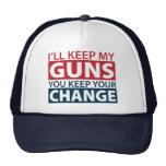 Guardaré mis armas, usted guardo su cambio gorro de camionero