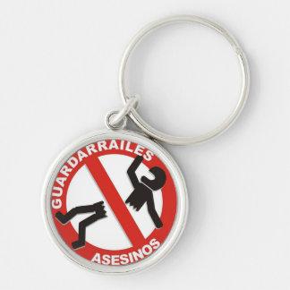 guardarrailes assassins keychain