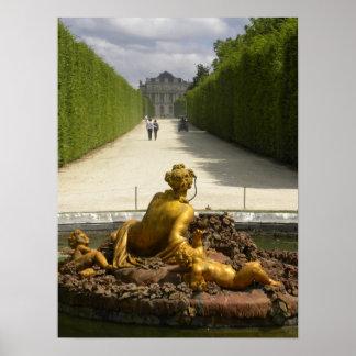 Guardas de bronce impresiones