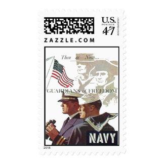 Guardas de la marina de guerra de los sellos de la