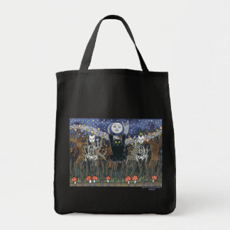 Guardas de un bosque frecuentado bolsa de mano