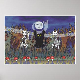 Guardas de un bosque frecuentado poster