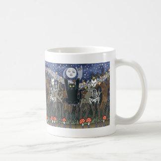 Guardas de un bosque frecuentado taza de café