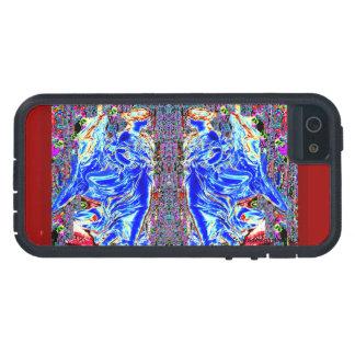 GUARDAS DEL ÁNGEL DE LA CAJA DEL TELÉFONO DEL iPhone 5 CARCASA