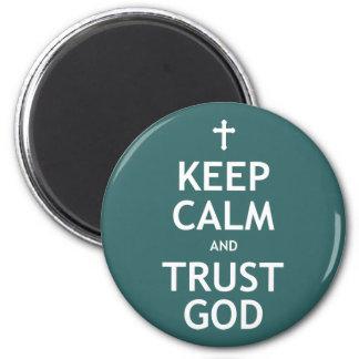 Guarde a dios de la calma y de la confianza iman