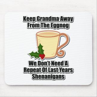 Guarde a la abuela lejos de la yema tapetes de ratón