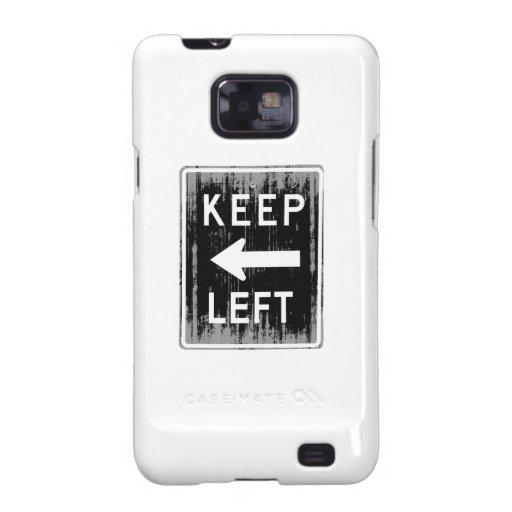 GUARDE A LA IZQUIERDA - Faded.png Samsung Galaxy SII Fundas