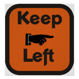 ¿Guarde a la izquierda? Poster