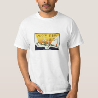 Guarde a la momia, camiseta de esfuerzo de la