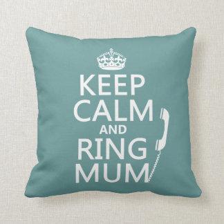 Guarde a la momia de la calma y del anillo - todos almohada