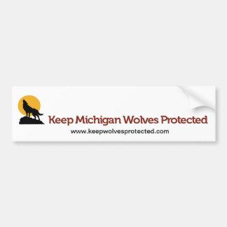 Guarde a la pegatina para el parachoques protegida pegatina para auto