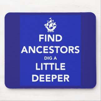 Guarde a los antepasados tranquilos del hallazgo mouse pads