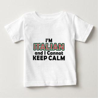 Guarde a los italianos tranquilos remera