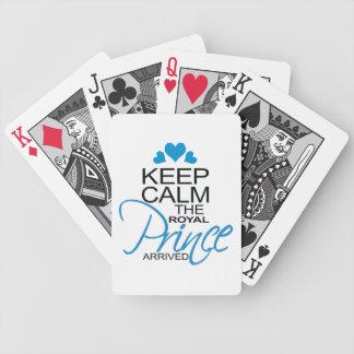 Guarde a príncipe George Arrived tranquila Baraja Cartas De Poker