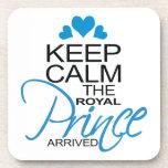 Guarde a príncipe George Arrived tranquila Posavasos De Bebidas