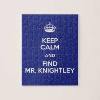 Guarde a Sr. tranquilo Knightley Emma Jane Austen  Rompecabezas