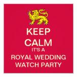 GUARDE al banquete de boda real TRANQUILO para Anuncio Personalizado