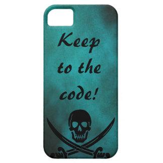 ¡Guarde al código! iPhone 5 Carcasas