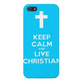Guarde al cristiano tranquilo y vivo iPhone 5 coberturas