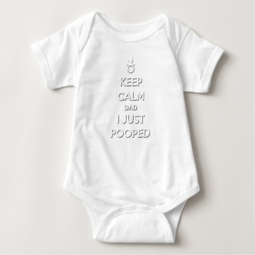 Guarde al papá tranquilo body para bebé