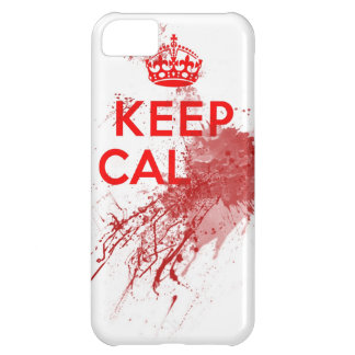 Guarde al zombi sangriento tranquilo funda para iPhone 5C