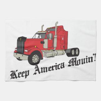 ¡Guarde América Movin! Toalla De Mano