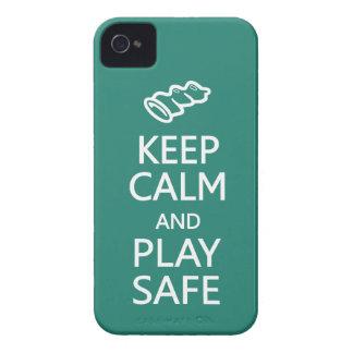 Guarde caja de encargo segura de Blackberry del co Case-Mate iPhone 4 Fundas