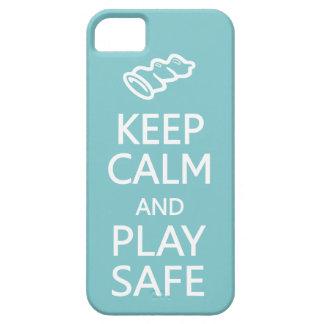 Guarde caso de encargo seguro del iPhone del color iPhone 5 Case-Mate Funda