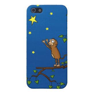 Guarde el alcanzar del mono iPhone 5 fundas