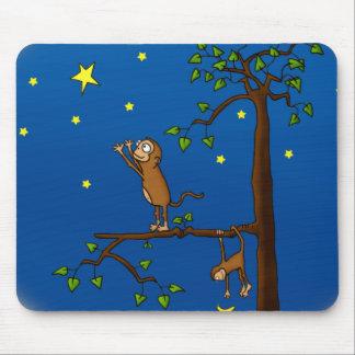 Guarde el alcanzar del mono Mousepad Tapetes De Ratón
