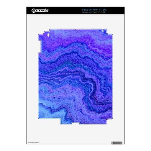guarde el azul tranquilo calcomanías para el iPad 2