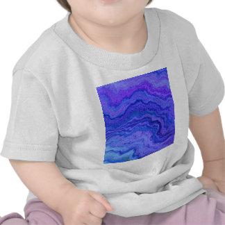 guarde el azul tranquilo camiseta