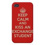 Guarde el beso de la calma… un caso del iPhone 4 d iPhone 4 Cárcasa