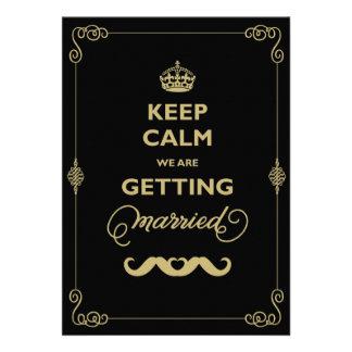 Guarde el boda gay del vintage clásico tranquilo d invitación