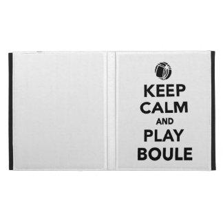 Guarde el Boule tranquilo Boccia del juego