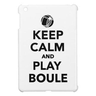 Guarde el Boule tranquilo Boccia del juego iPad Mini Coberturas