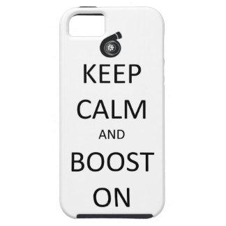 Guarde el caso tranquilo del iPhone 5 del alza enc iPhone 5 Carcasas