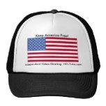 Guarde el casquillo libre de América Gorros