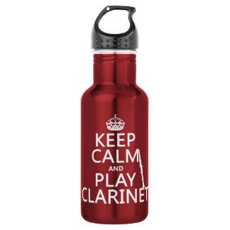 Guarde el Clarinet de la calma y del juego
