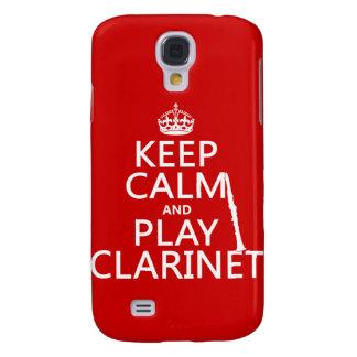 Guarde el Clarinet de la calma y del juego cualqu